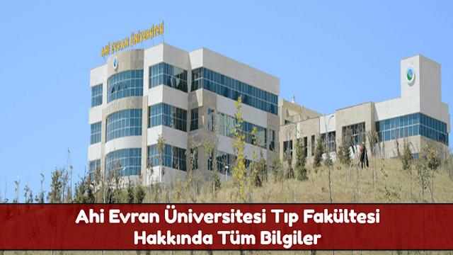 Ahi Evran Üniversitesi Tıp Fakültesi Hakkında Tüm Bilgiler - Doktor Bun