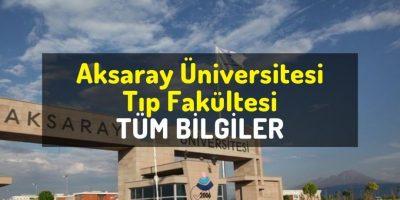 Aksaray Üniversitesi Tıp Fakültesi puanları, sıralaması ve öğrenci yorumları