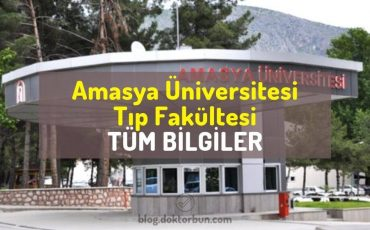Amasya Üniversitesi Tıp Fakültesi tüm bilgiler, sıralama, puan, öğrenci yorumları