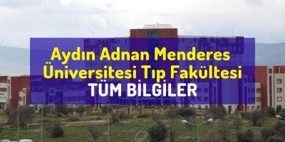 Aydın Adnan Menderes Üniversitesi Tıp Fakültesi | TÜM BİLGİLER - Doktor Bun