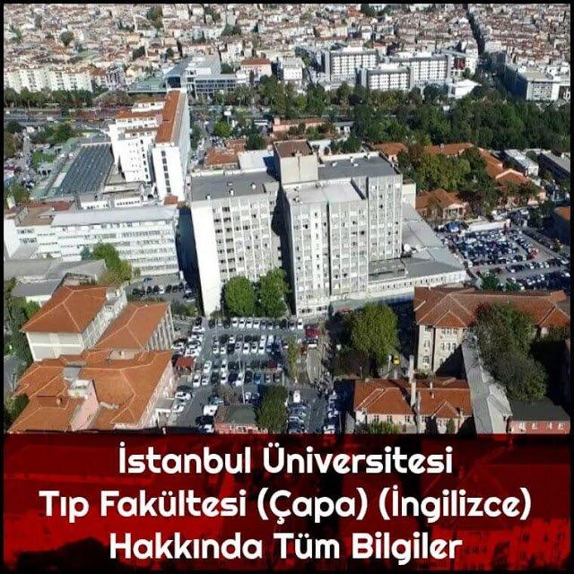 İstanbul Üniversitesi Tıp Fakültesi (Çapa) (İngilizce) Hakkında Tüm Bilgiler - Doktor Bun