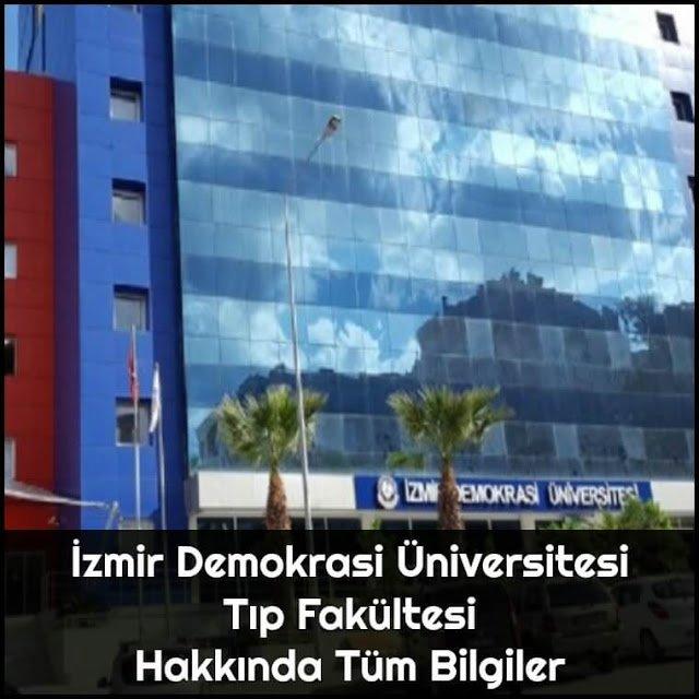 İzmir Demokrasi Üniversitesi Tıp Fakültesi Hakkında Tüm Bilgiler - Doktor Bun