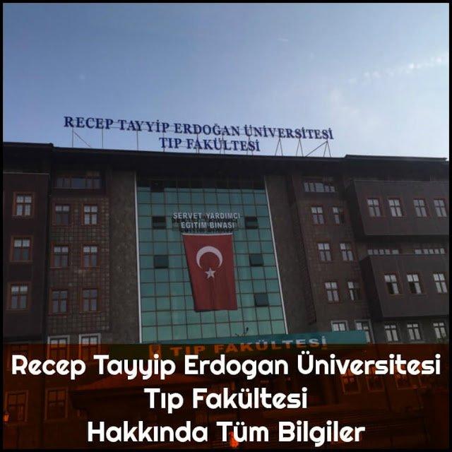 Recep Tayyip Erdoğan Üniversitesi Tıp Fakültesi Hakkında Tüm Bilgiler - Doktor Bun