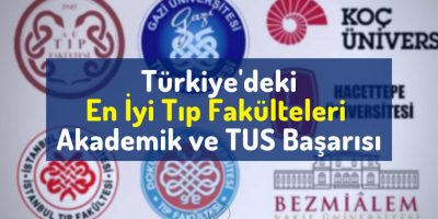 Türkiye'deki en iyi tıp fakülteleri, akademik başarıya göre, tus başarısına göre, sıralamaya göre