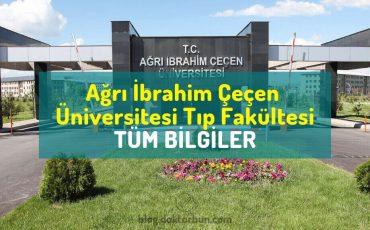 Ağrı İbrahim Çeçen Üniversitesi Tıp Fakültesi puanları, sıralaması ve öğrenci yorumları