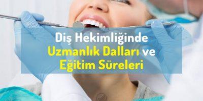 Diş Hekimliğinde uzmanlık dalları nelerdir? Diş hekimliği uzmanlık bölümleri/branşları ve eğitim süreleri